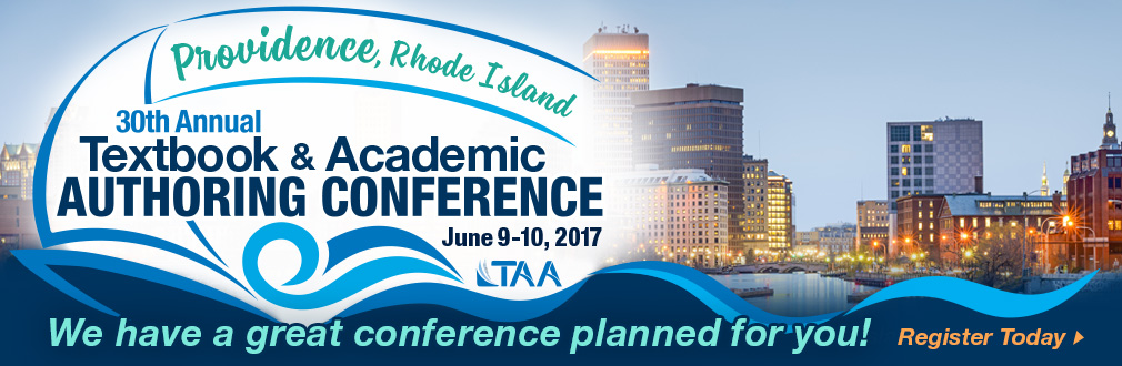 2017 TAA Conference on Textbook and Academic Authoring