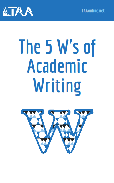 5 Ws of Academic Writing