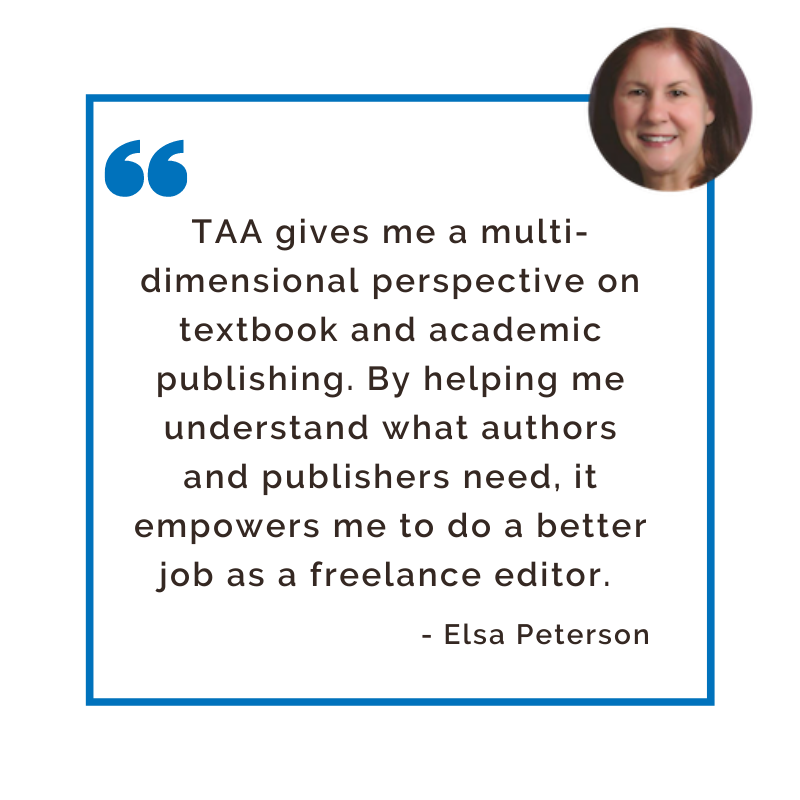 Quote from Industry Professional Member Elsa Peterson