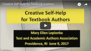 Creative Self Help for Textbook Authors
