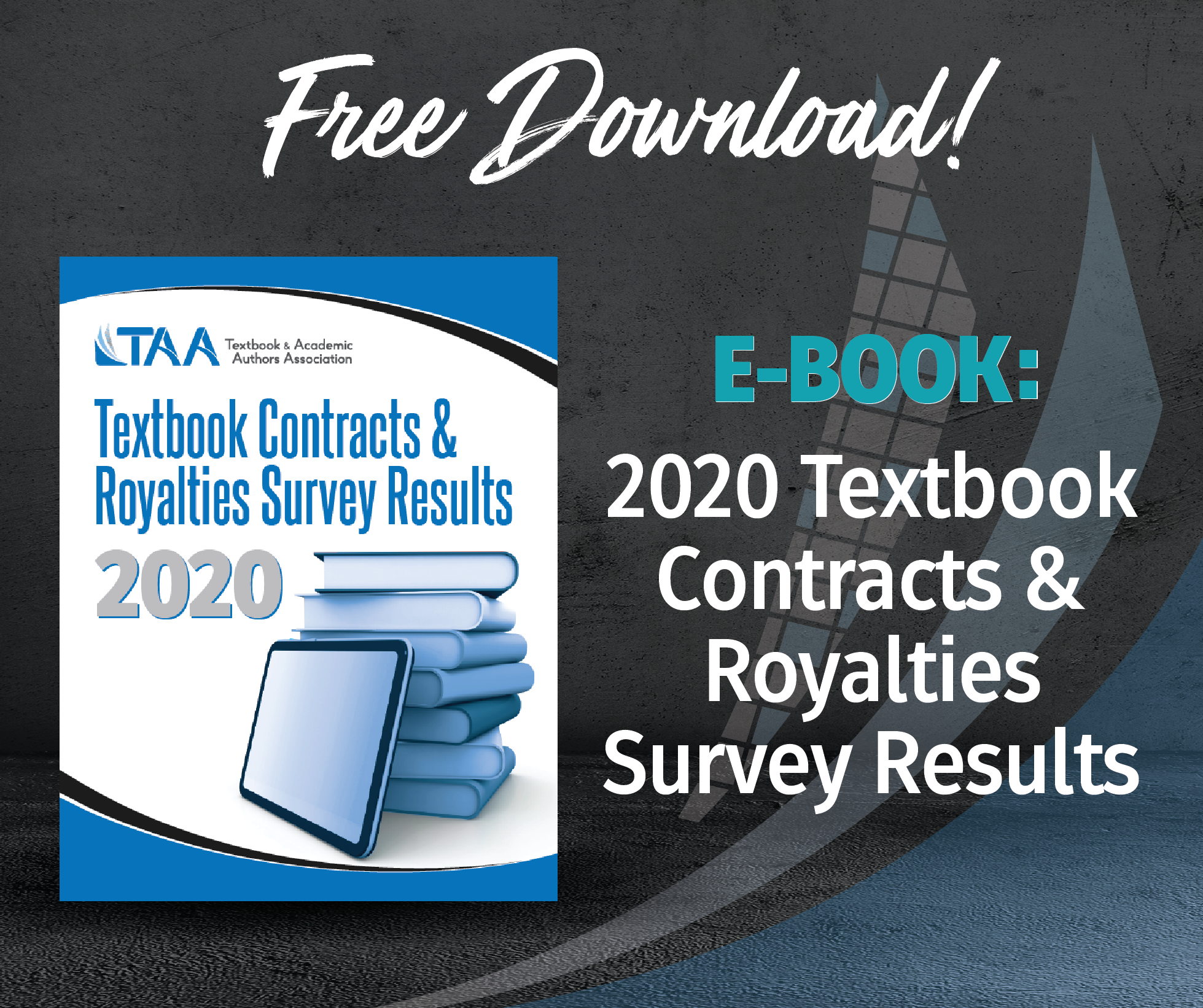 2020 Textbook Contracts and Royalties Survey results ebook