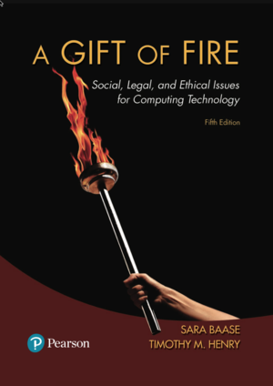 Gift of Fire book cover