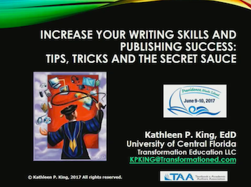 Increase your writing skills
