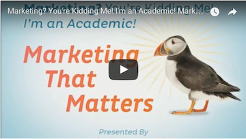 Marketing for academics clip