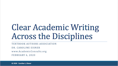 Clear Academic Writing